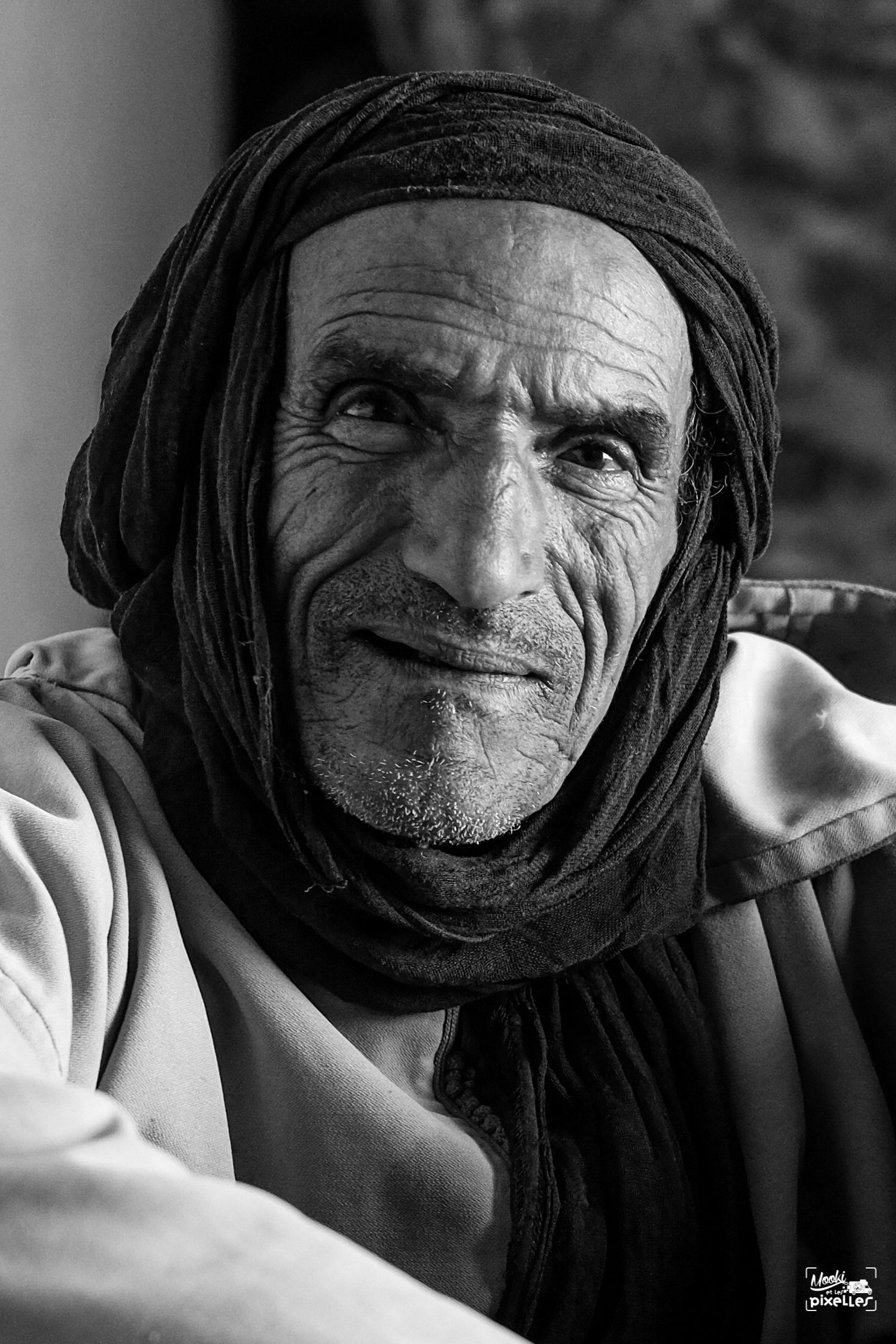 Portrait d'un marocain portrait photography