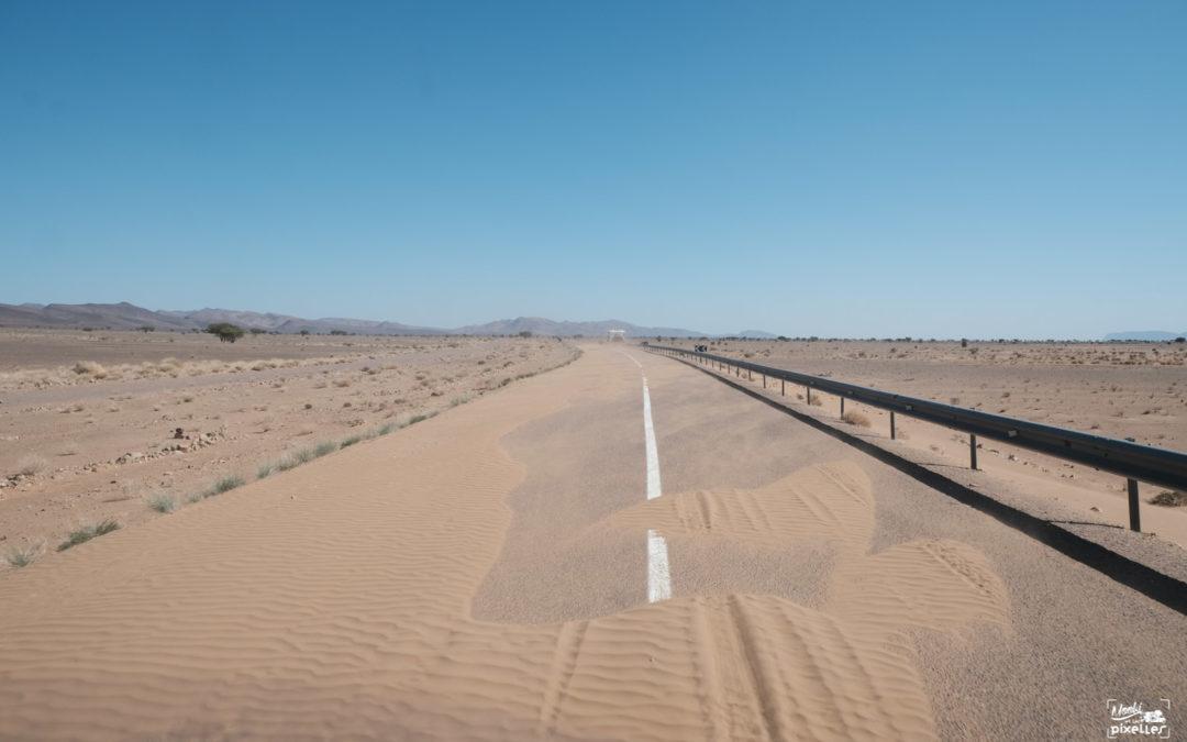 En route vers le désert !