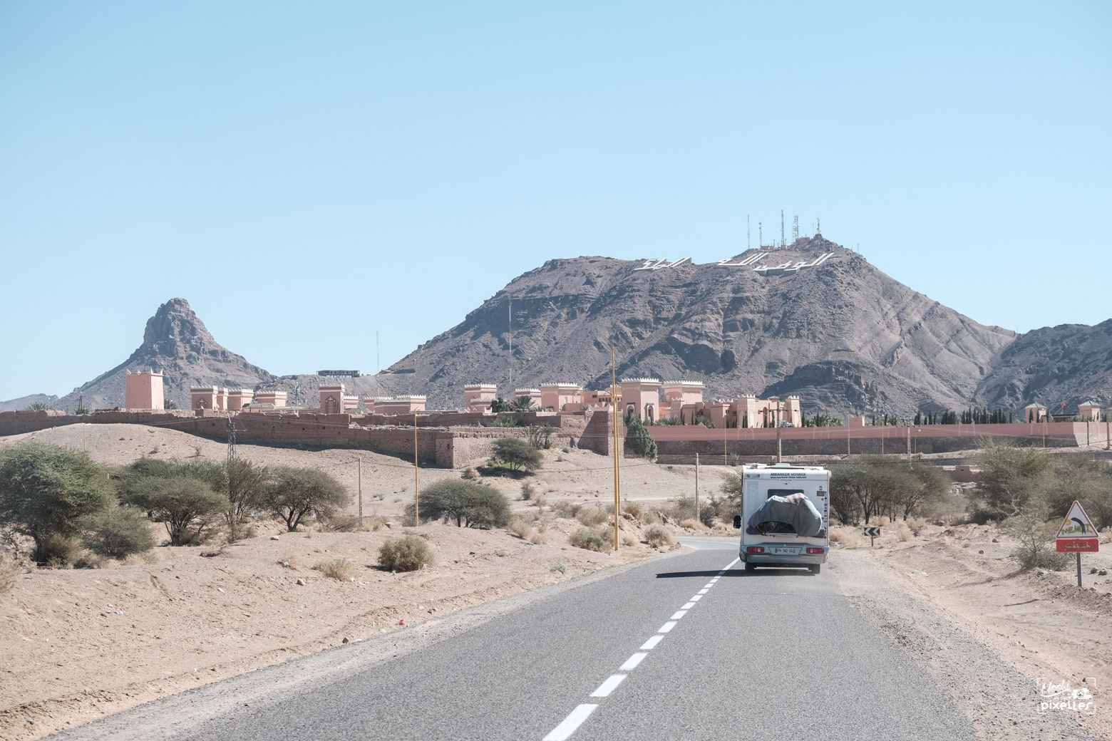 arrivée à Zagora au Maroc