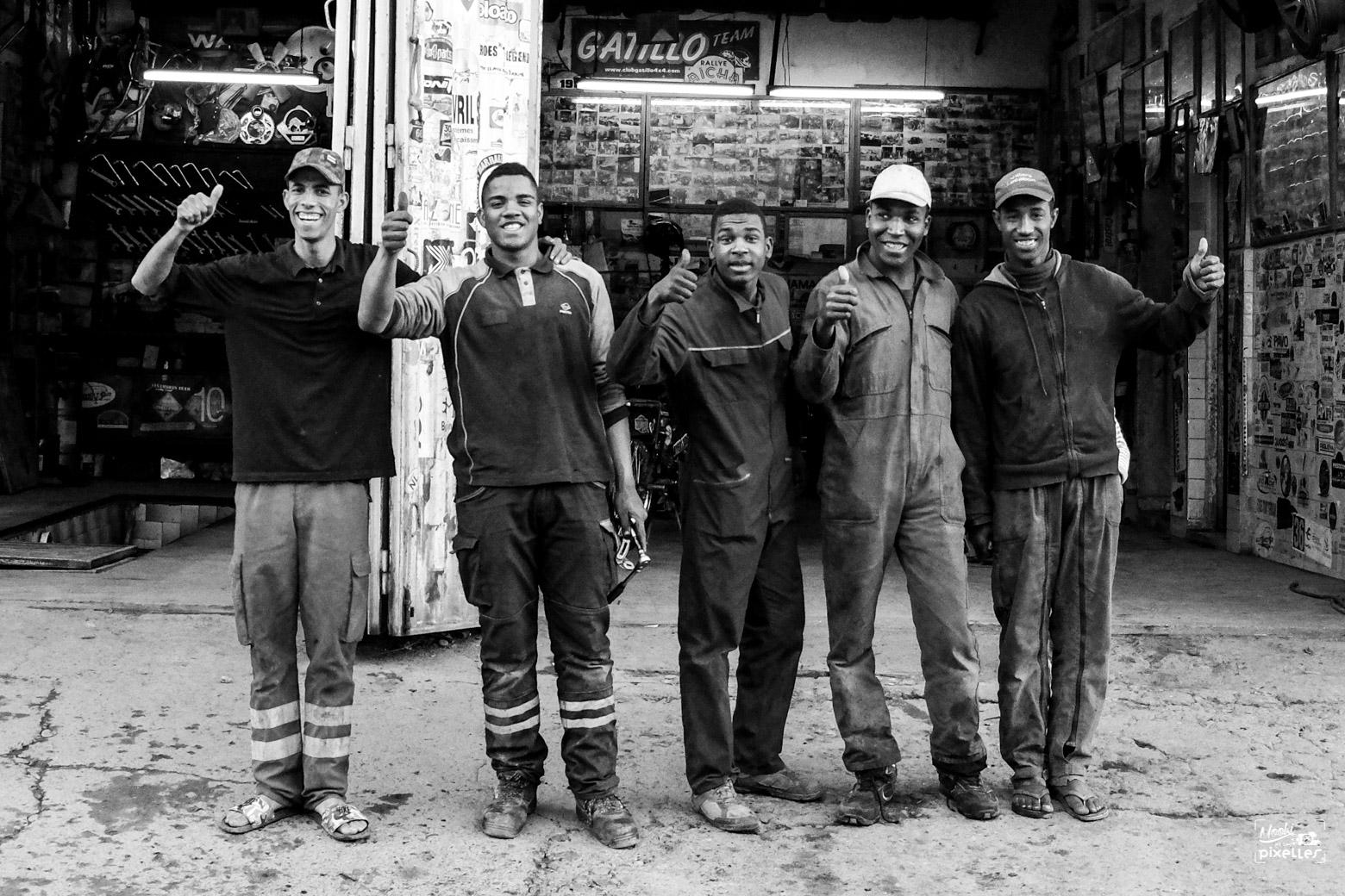 Des garagistes au top à Zagora