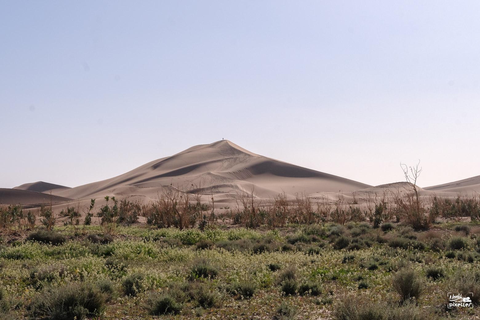 Erg Chigaga dans le désert du Sahara