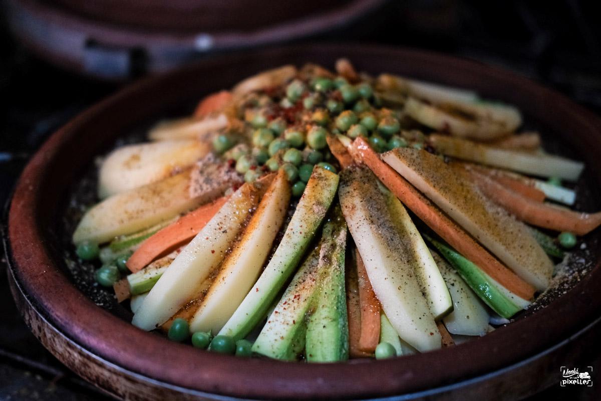 Notre magnifique tajine aux légumes