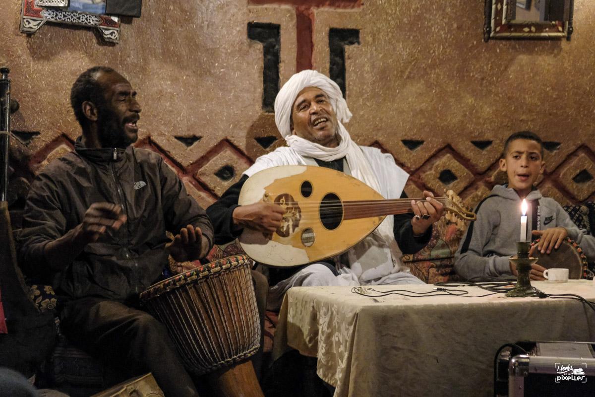 Musiciens marocains à Zagora