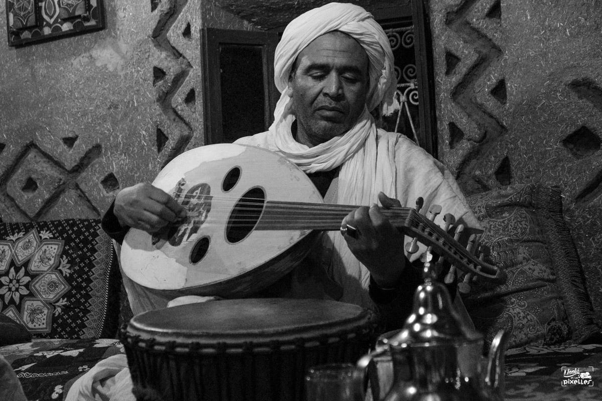 Musicien marocain