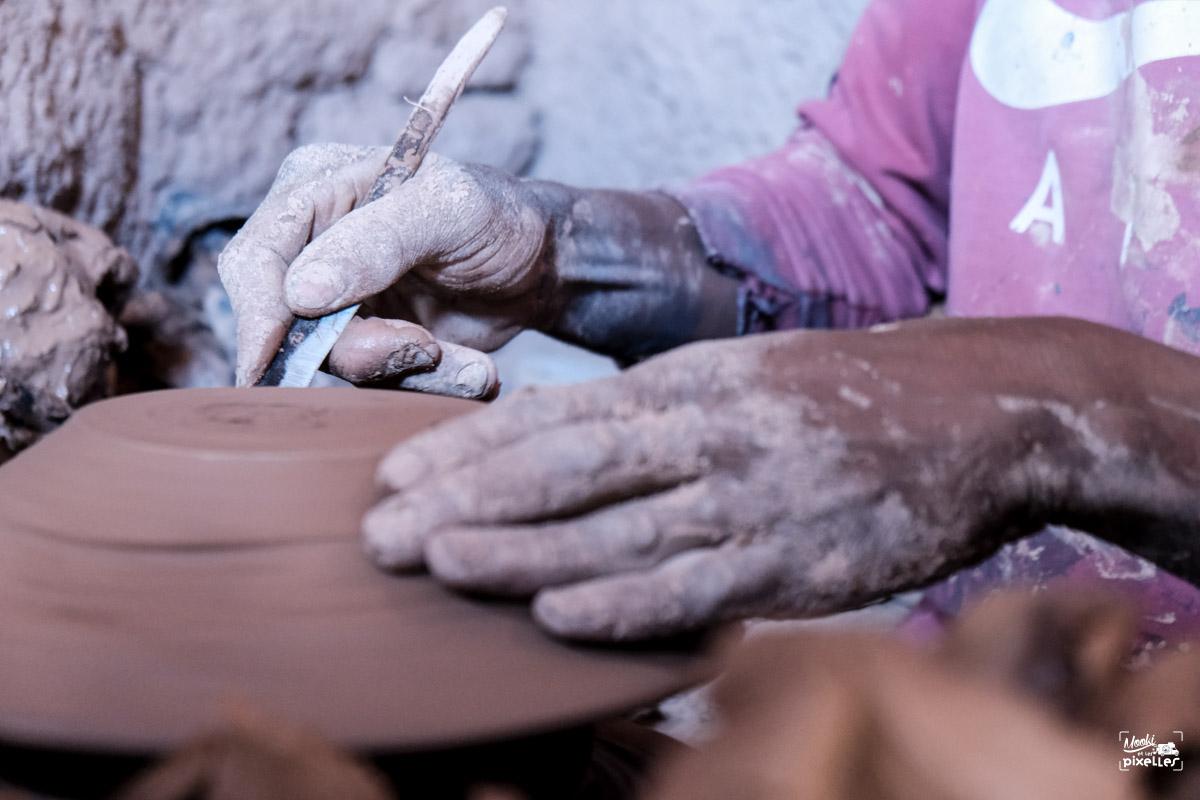 Les mains du potier