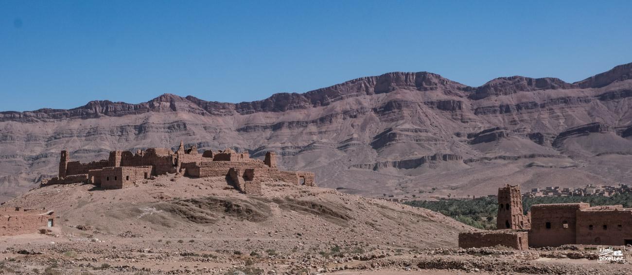 ancienne kasbah au maroc