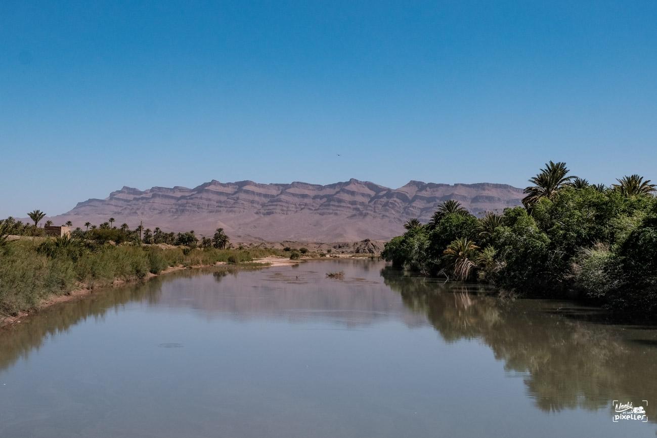 Le fleuve draa au maroc