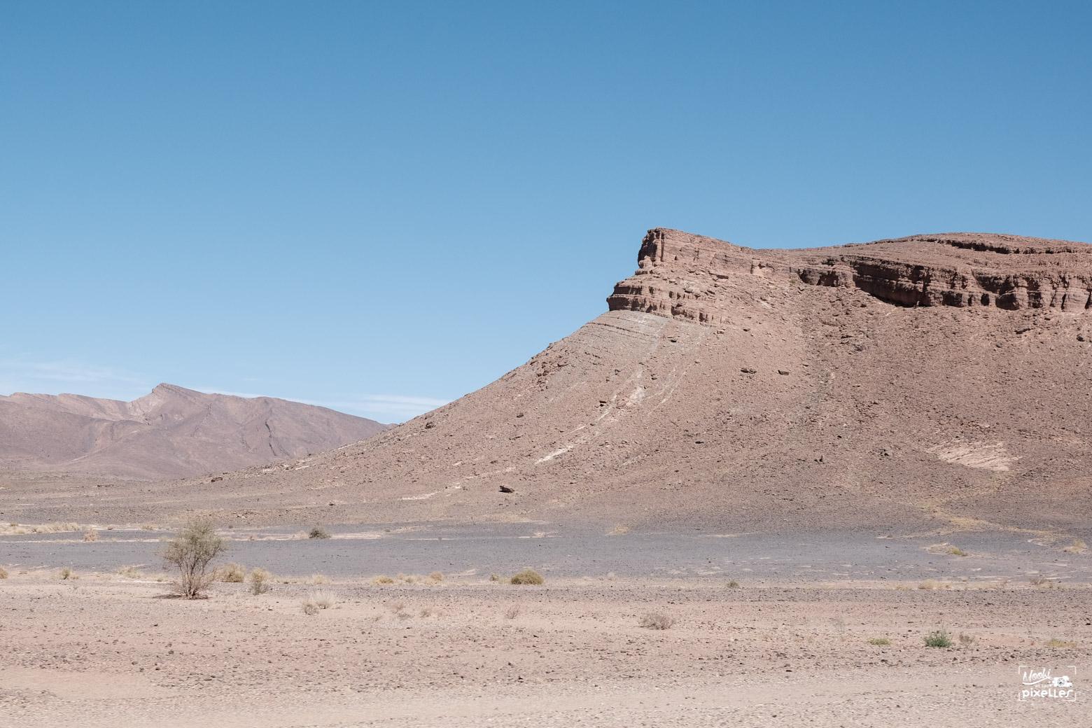 Désert montagneux au maroc