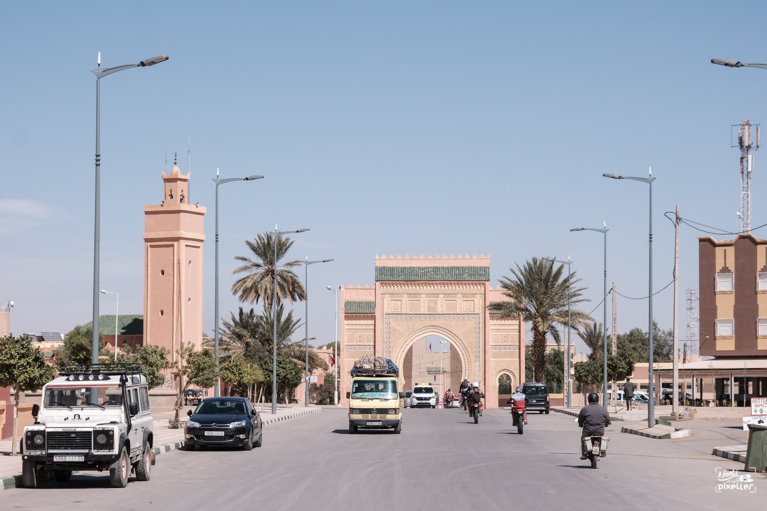 L'enrtrée de la ville de Risani au Maroc